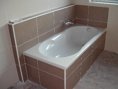 Our new bath is now ready