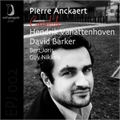 CD Cover of Pierre Anckaert Trio - Candide