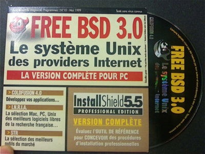 May 1999 - Free BSD and Allaire ColdFusion 4 on a single CD-ROM