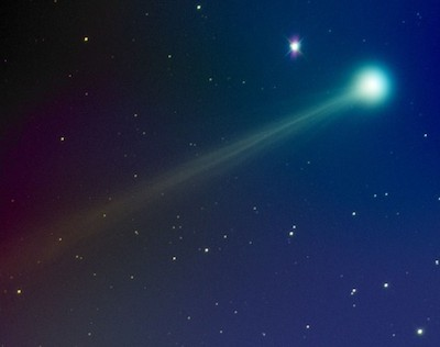 Comet ISON on Nov. 14th. Photograph by Mike Hankey of Monkton, Maryland.
