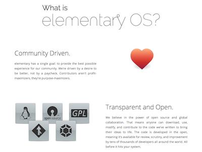 'elementary OS'