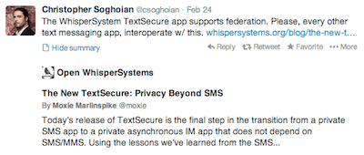 @csoghoian tweets about security