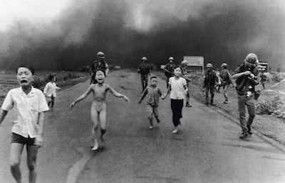 The Napalm Girl, 1972 (by Nick Ut, Associated Press)