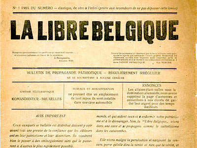 La Libre Belgique N° 1