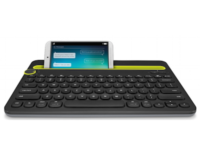 Bluetooth Multi-Device Keyboard K480 -  A wireless desk keyboard for your computer, tablet and smartphone