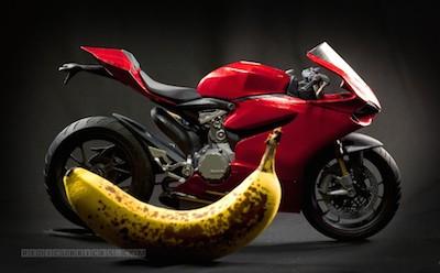 Model of a Ducati 1199