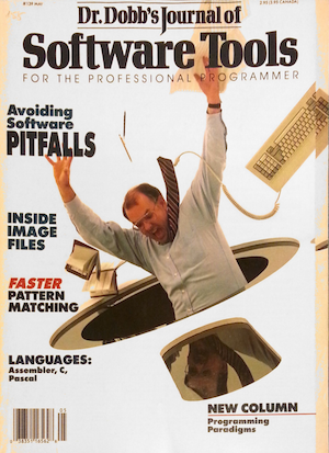 The cover of DDJ, May 1988