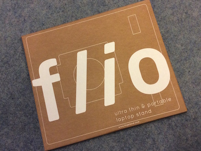 The packaging of the Flio is simple, just like its contents
