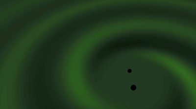 Watch How Gravitational Waves Dance across the Universe
