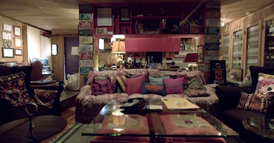 The Zappa family house: view of the interior (Photo by Alex Winter)