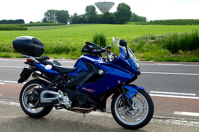 The F800GT on the N758 in Bilzen, Belgium