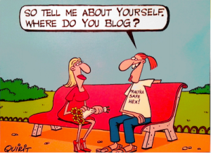 So tell me about yourself: where do you blog?