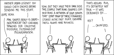 Sarcasm by XKCD