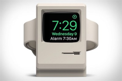 Image of the Elago Vintage W3 Apple Watch Stand