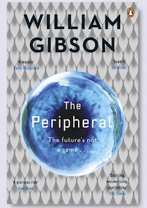 Cover of the paperback edition of William Gibson's 'The Peripheral'