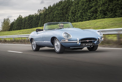 Ars Technica – Jaguar has restored this old E-type with an electric upgrade