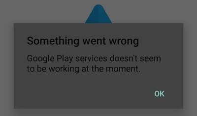 Google play services not working with android auto